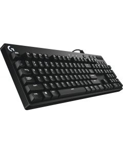 Logitech - Orion Red G610 Wired Gaming Mechanical Cherry MX Red Switch Keyboard with Backlighting - Black