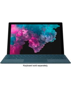 """LGP-00001 - Microsoft - Surface Pro 6 - 12.3"""" Touch-Screen - Intel Core i5 - 8GB Memory - 128GB Solid State Drive (Latest Model) - Platinum"""