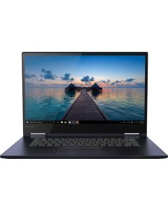 """81JS005BUS - Lenovo - Yoga 730 2-in-1 15.6"""" Touch-Screen Laptop - Intel Core i5 - 12GB Memory - 256GB Solid State Drive - Abyss Blue"""