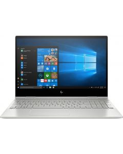 """15M-DR0012DX - HP - ENVY x360 2-in-1 15.6"""" Touch-Screen Laptop - Intel Core i7 - 8GB Memory - 512GB SSD + Optane - Natural Silver, Sandblasted Anodized Finish"""