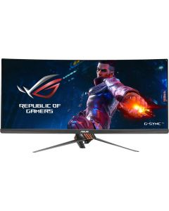 "ASUS ROG Swift PG348Q Gray 34"" 3440 x 1440, 100 Hz Curved IPS G-Sync U-WQHD sRGB Gaming Monitor"